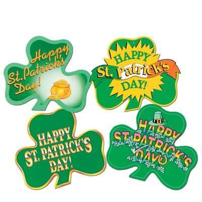 St. Patrick's Day Shamrock Cutouts