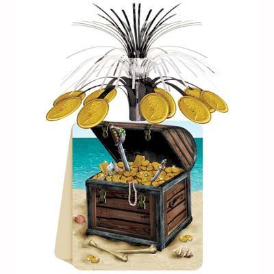 Pirate Treasure Centerpiece