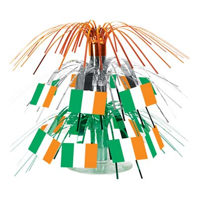 Irish Flag Mini Cascade Centerpiece