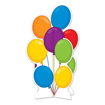 3 D Balloons Centerpiece