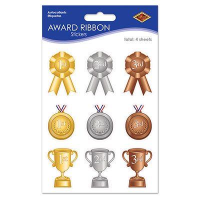 Award Ribbon Stickers