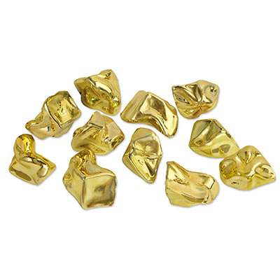 Plastic Gold Nuggets