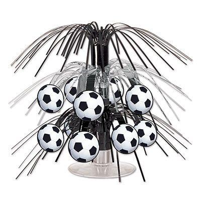Soccer Ball Mini Cascade Centerpiece