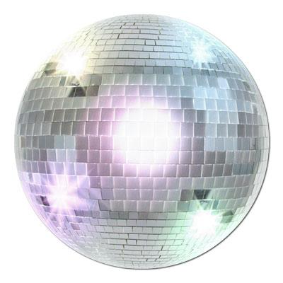Disco Ball Cutout