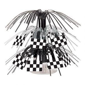 Checkered Flag Mini Cascade Centerpiece