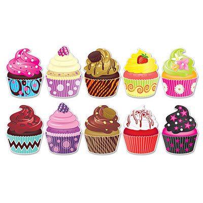 Mini Cupcake Cutouts