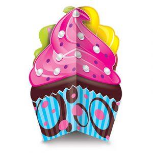 3 D Cupcake Centerpiece