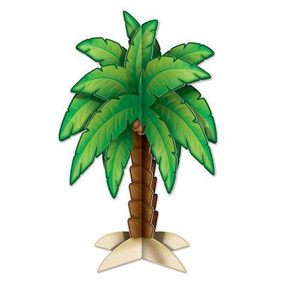 3-D Palm Tree Centerpiece