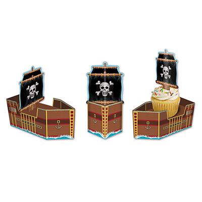 Pirate Ship Favor Boxes