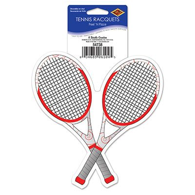 Tennis Racquets Peel N Place