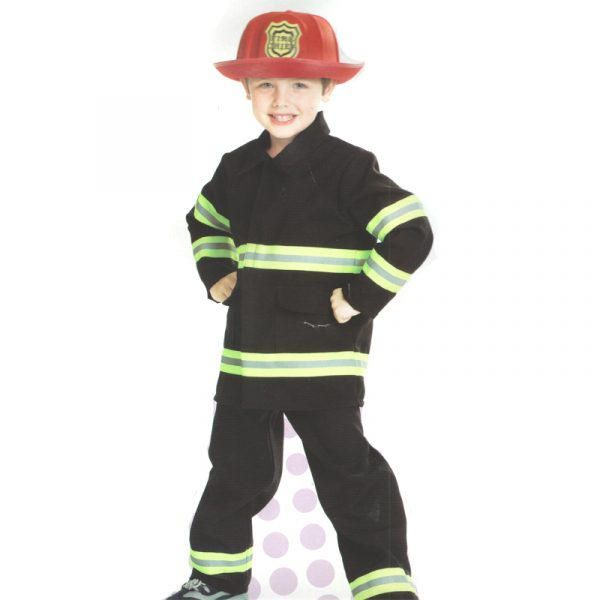 Child Fire Fighter Halloween Costume