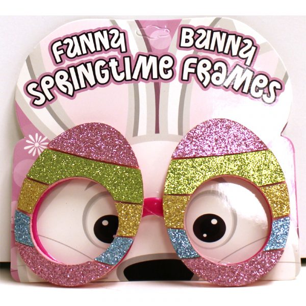Glittered Easter Eyeglasses