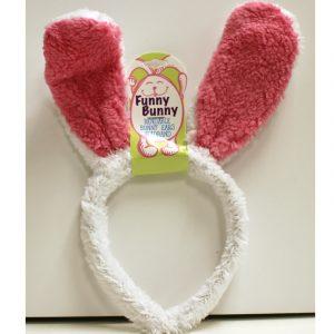 Furry Bendable Bunny Ears Headband
