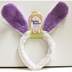 Furry Bendable Bunny Ears Headband