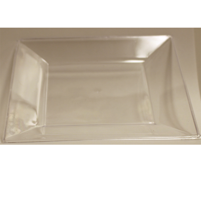 Clear Square Plastic Plates - 10 Pack  sc 1 st  Cappelu0027s & Buy Square Plastic Plates - Cappelu0027s Costumes and Party Supplies