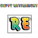 Happy Retirement Streamer