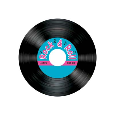 Rock and Roll Record Coasters