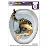 Snake Toilet Topper Peel N Place