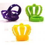 Party Plastic Crown Rings