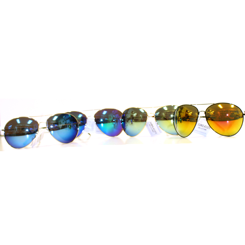 Extra Large Aviator Style Sunglasses - Assorted