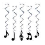 Musical Notes Whirls