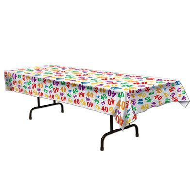 Age Printed Tablecovers 40 or 50