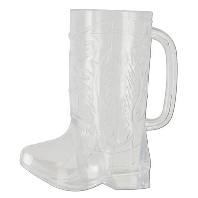 Plastic Cowboy Boot Mug