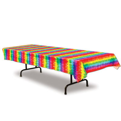Tie Dyed Tablecover