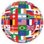 International Flag Plates and Napkins