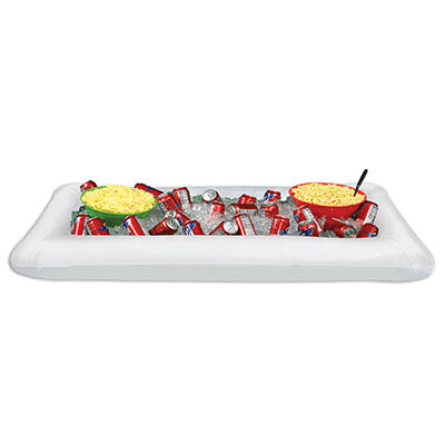 Inflatable White Buffet Cooler