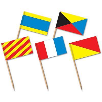 Nautical Flag Picks