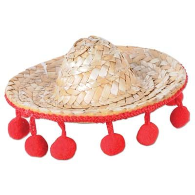 Sombrero Hair Clip