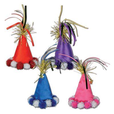 Cone Hat Hair Clip
