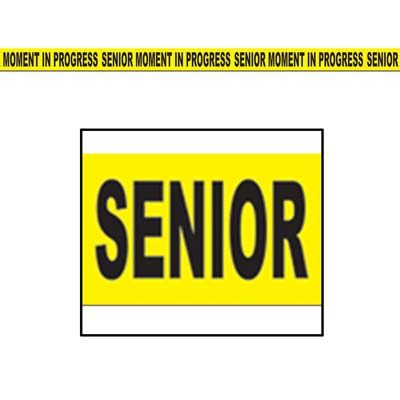 Senior Moment In Progress Party Tape
