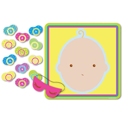 Pin the Pacifier Baby Shower Game
