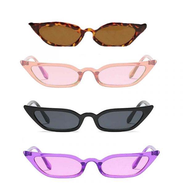Skinny Retro Cat Sunglasses
