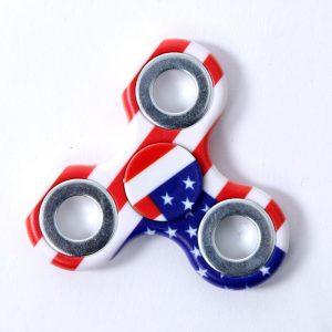 Patriotic Fidget Spinner