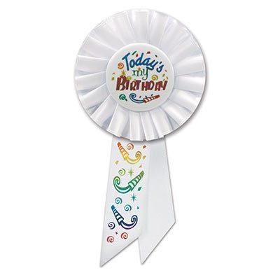 Todays My Birthday Rosette