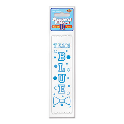 Blue or Pink Team Value Pack Ribbons