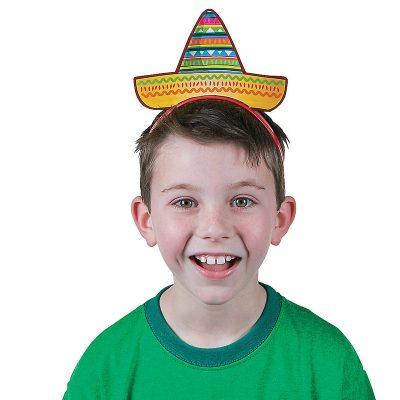 Cardboard Sombrero Headband Kids & Adults
