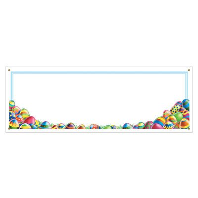 Easter Egg Hunt Sign Banner