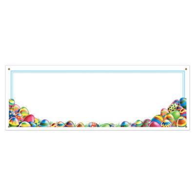 Easter Egg Hunt Sign Banner