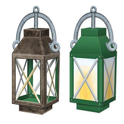 3 D Lantern Centerpiece