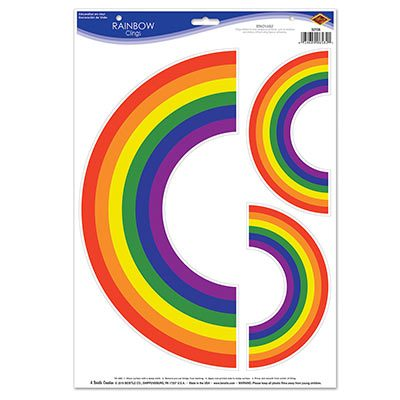 Rainbow Clings