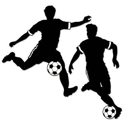 Boy Soccer Silhouettes