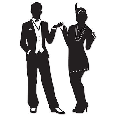Great 20s Silhouettes