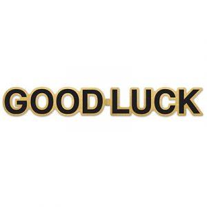 Good Luck Foil Streamer