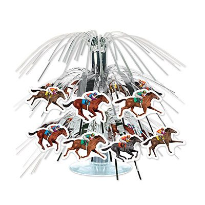 Horse Racing Mini Cascade Centerpiece