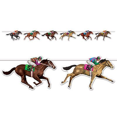 Horse Racing Streamer