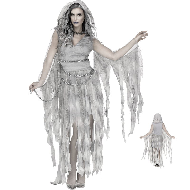 Adult Enchanted Ghost Halloween Costume